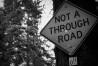 Not a through road
